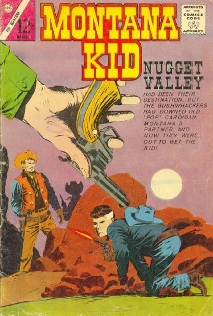 Comic Book Cover For Kid Montana #45