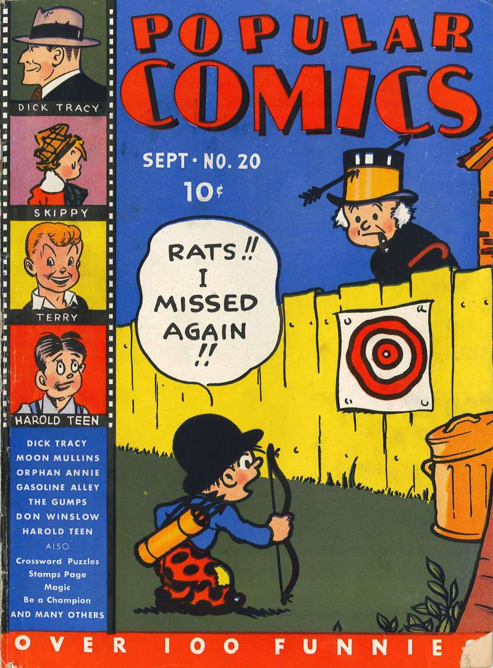 Comic Book Cover For Popular Comics #20