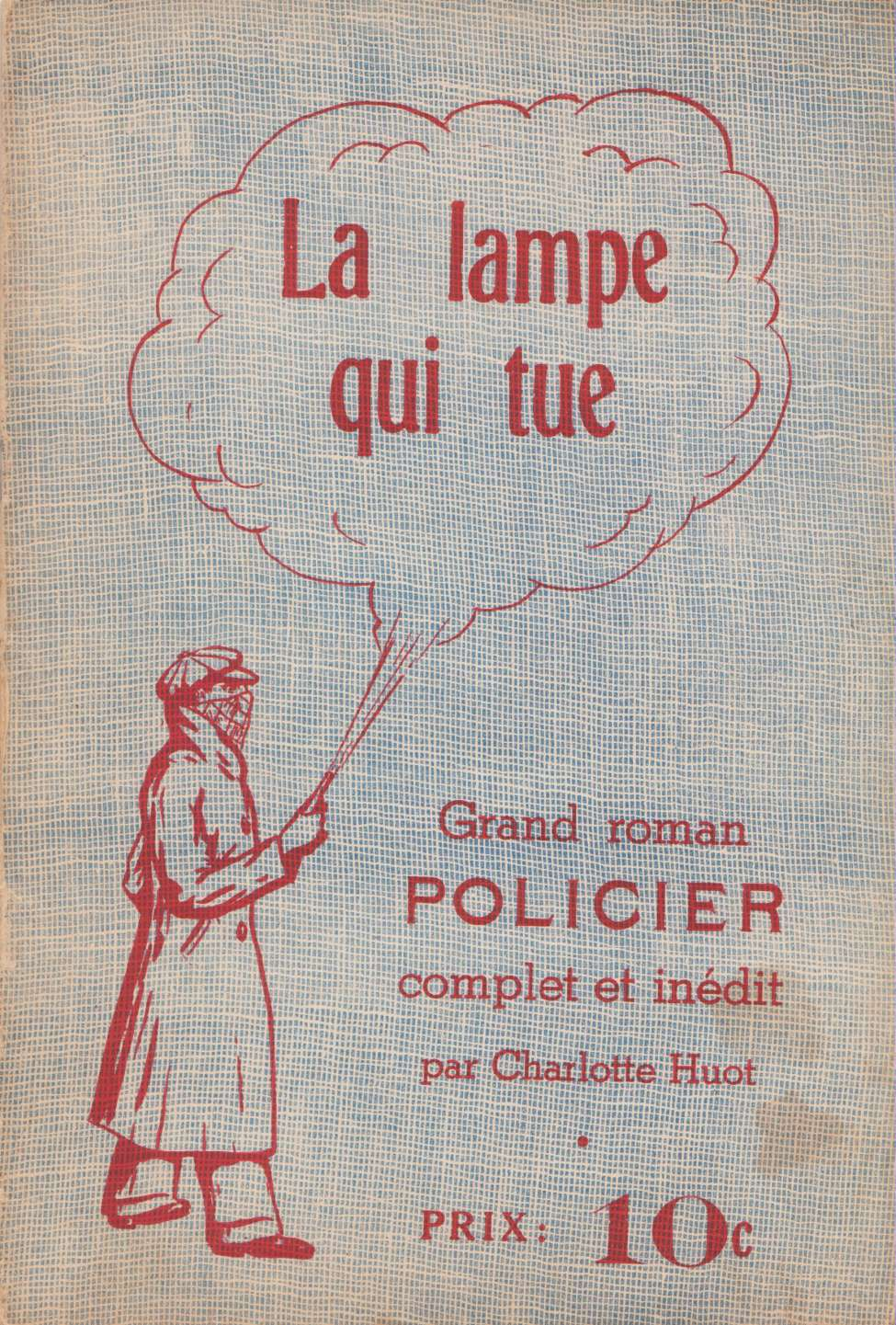 Comic Book Cover For Albert Brien 04 - La lampe qui tue