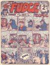 Cover For Fudge Comic