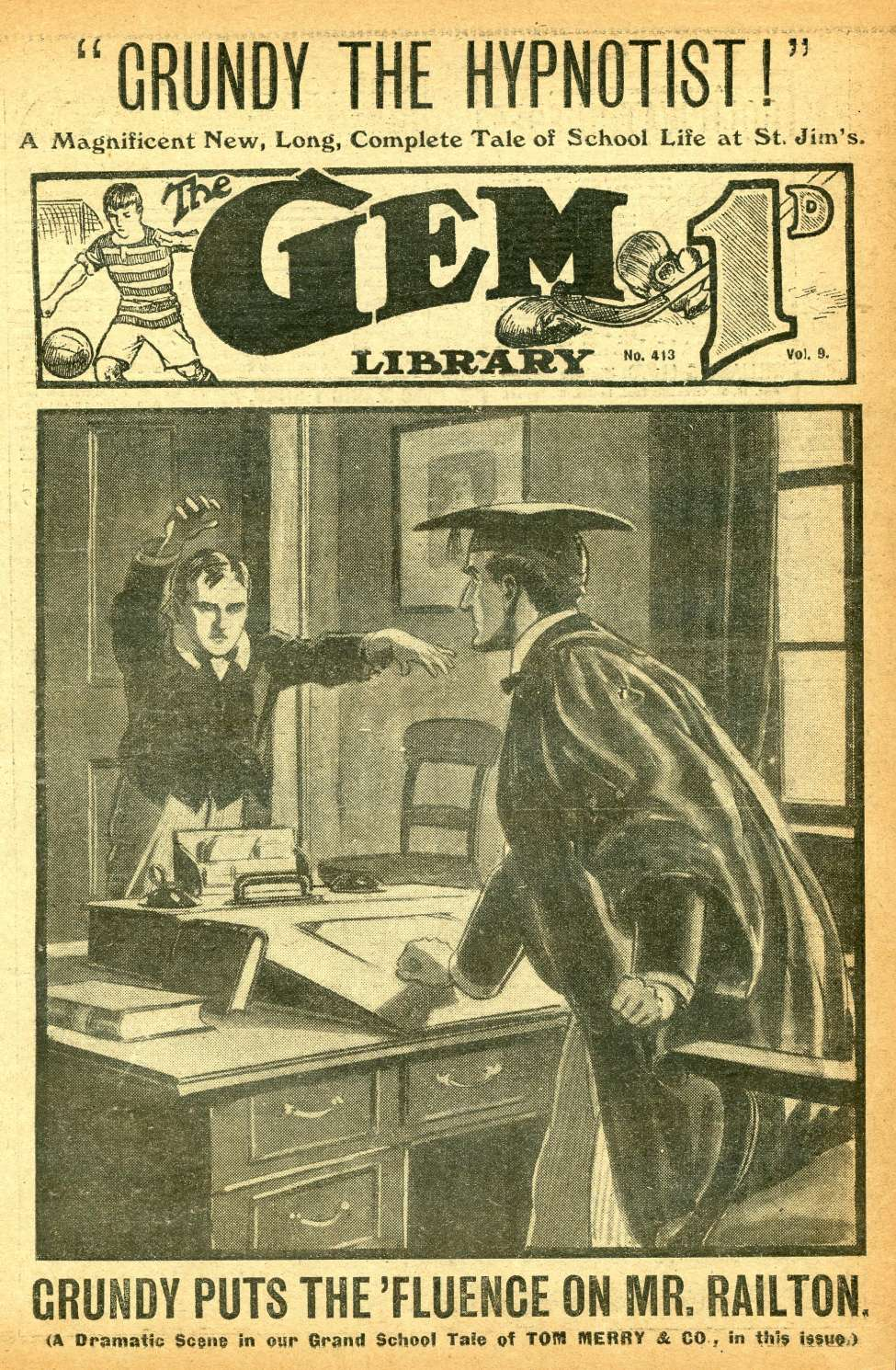 Comic Book Cover For The Gem v2 0413
