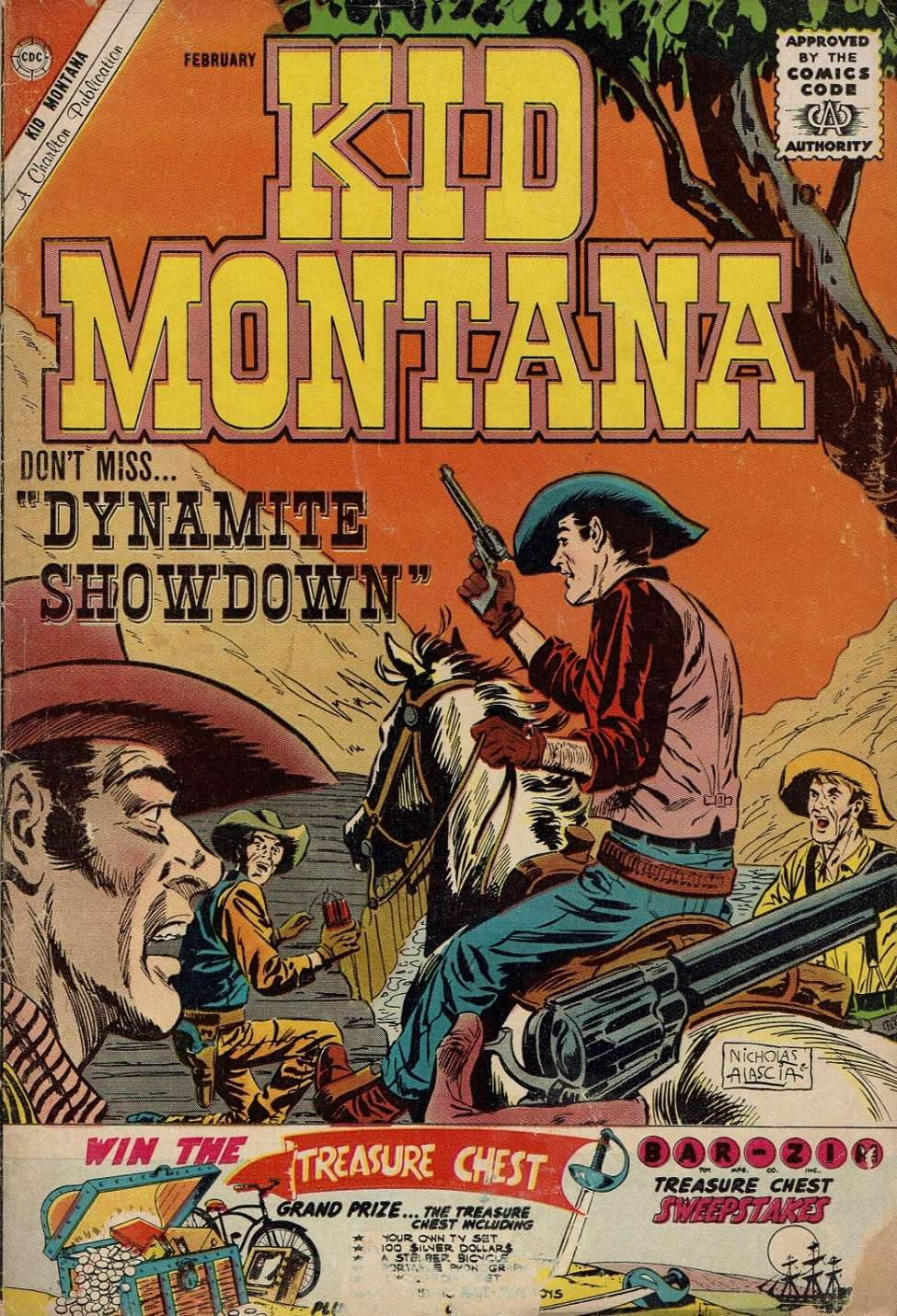 Comic Book Cover For Kid Montana #27