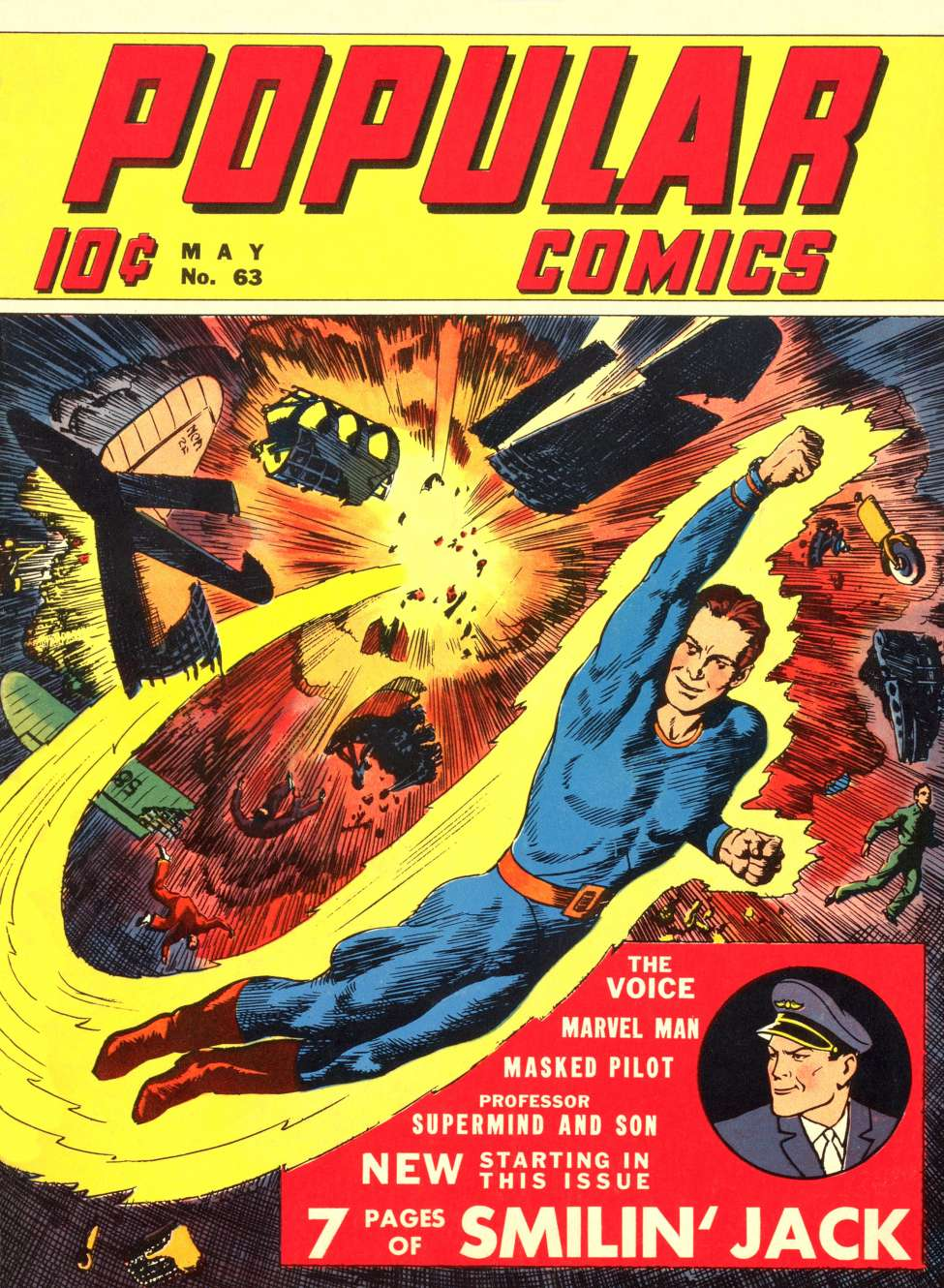 Comic Book Cover For Popular Comics #63