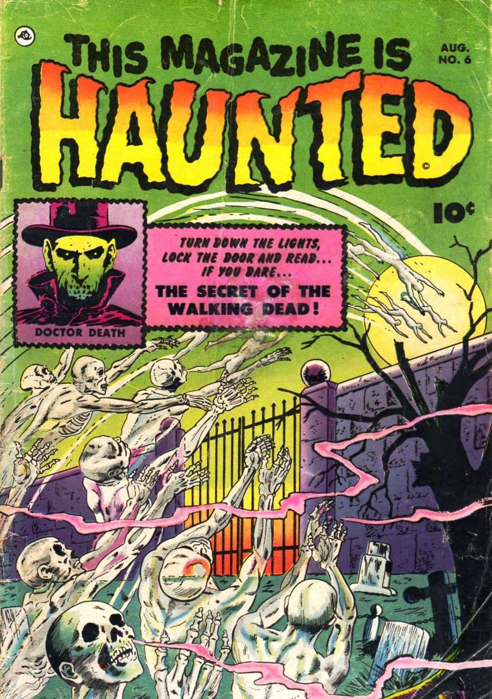 Comic Book Cover For This Magazine Is Haunted #6 - Version 2
