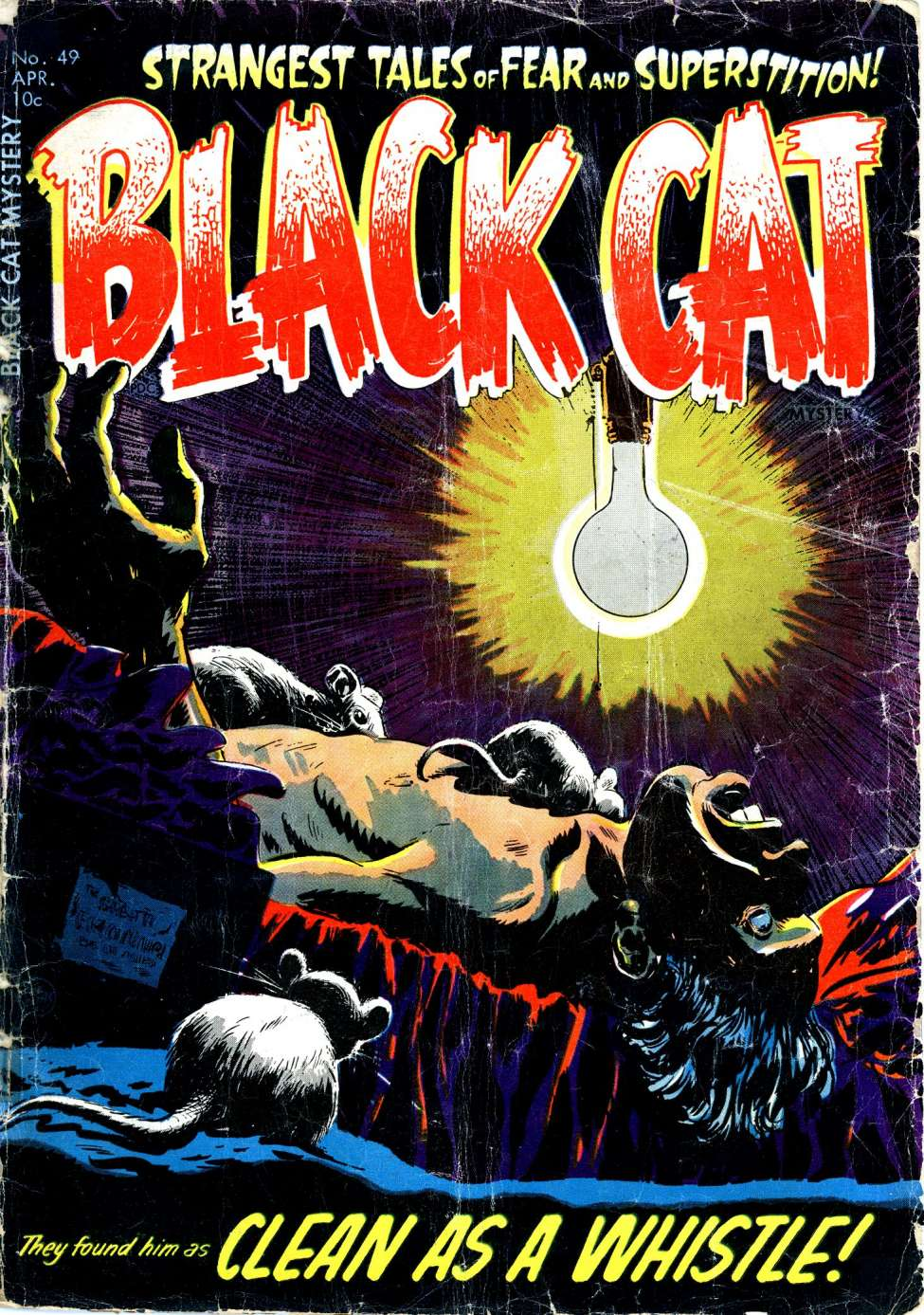 Comic Book Cover For Black Cat #49