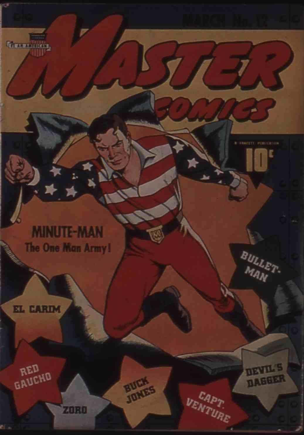 Comic Book Cover For Buck Jones (Fawcett Master Comics) vol 1