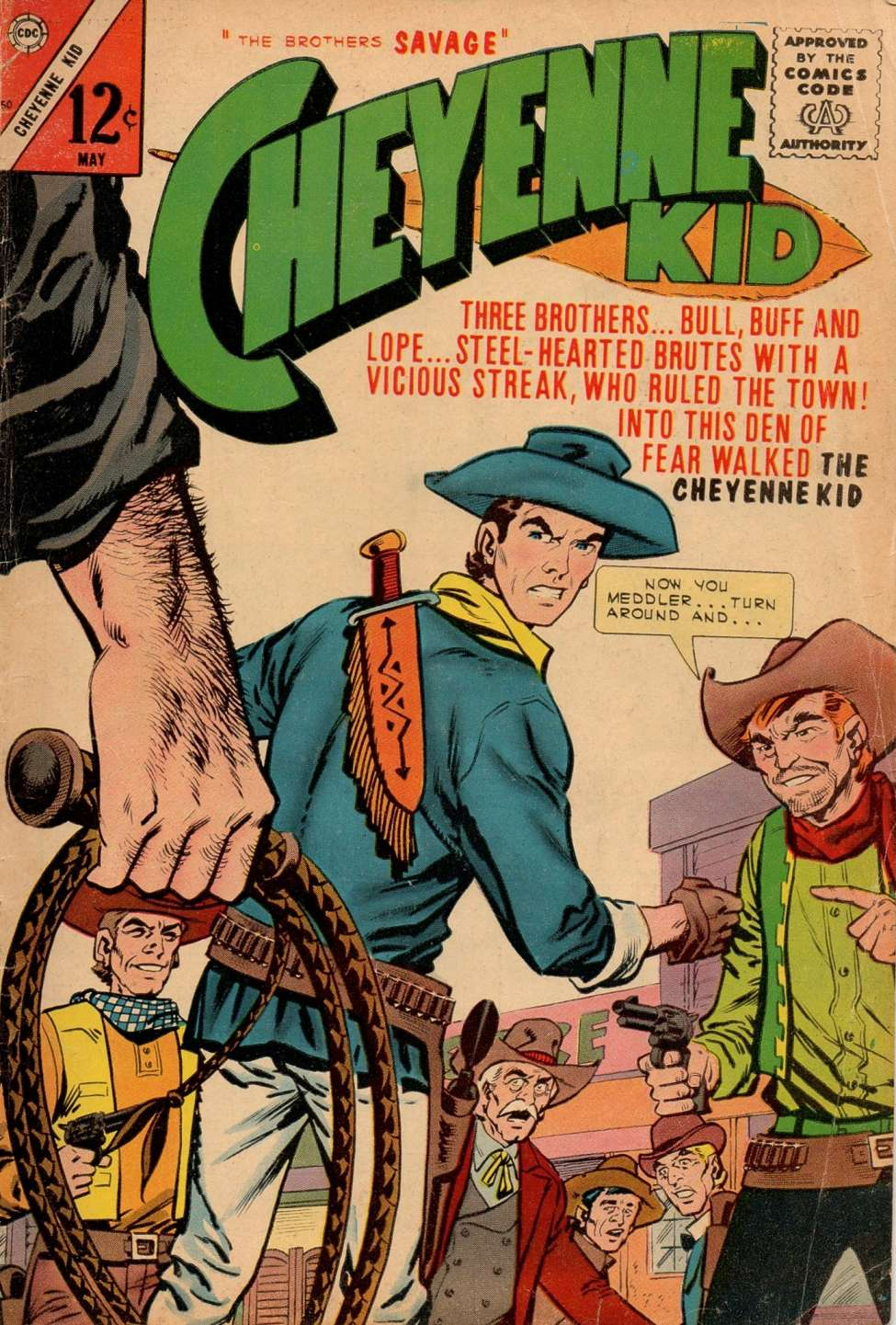 Comic Book Cover For Cheyenne Kid #50