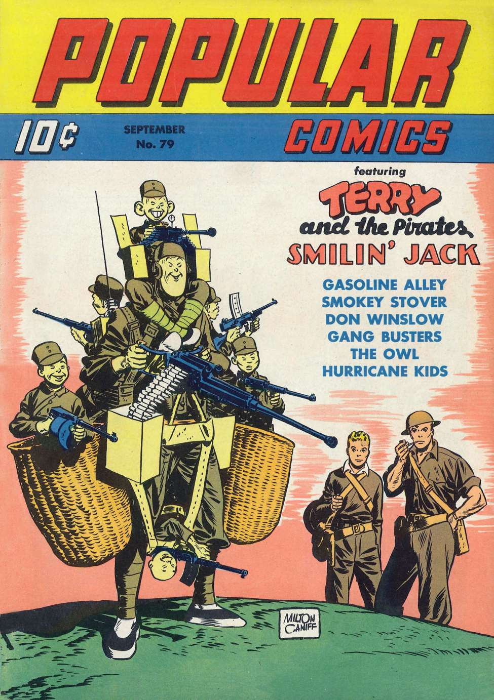 Comic Book Cover For Popular Comics #79