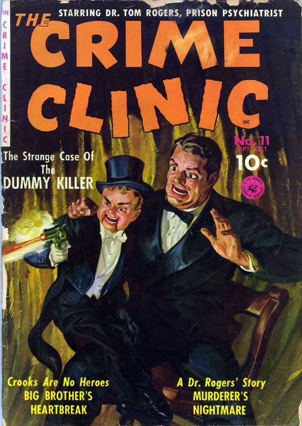 Comic Book Cover For Crime Clinic 2 [11]