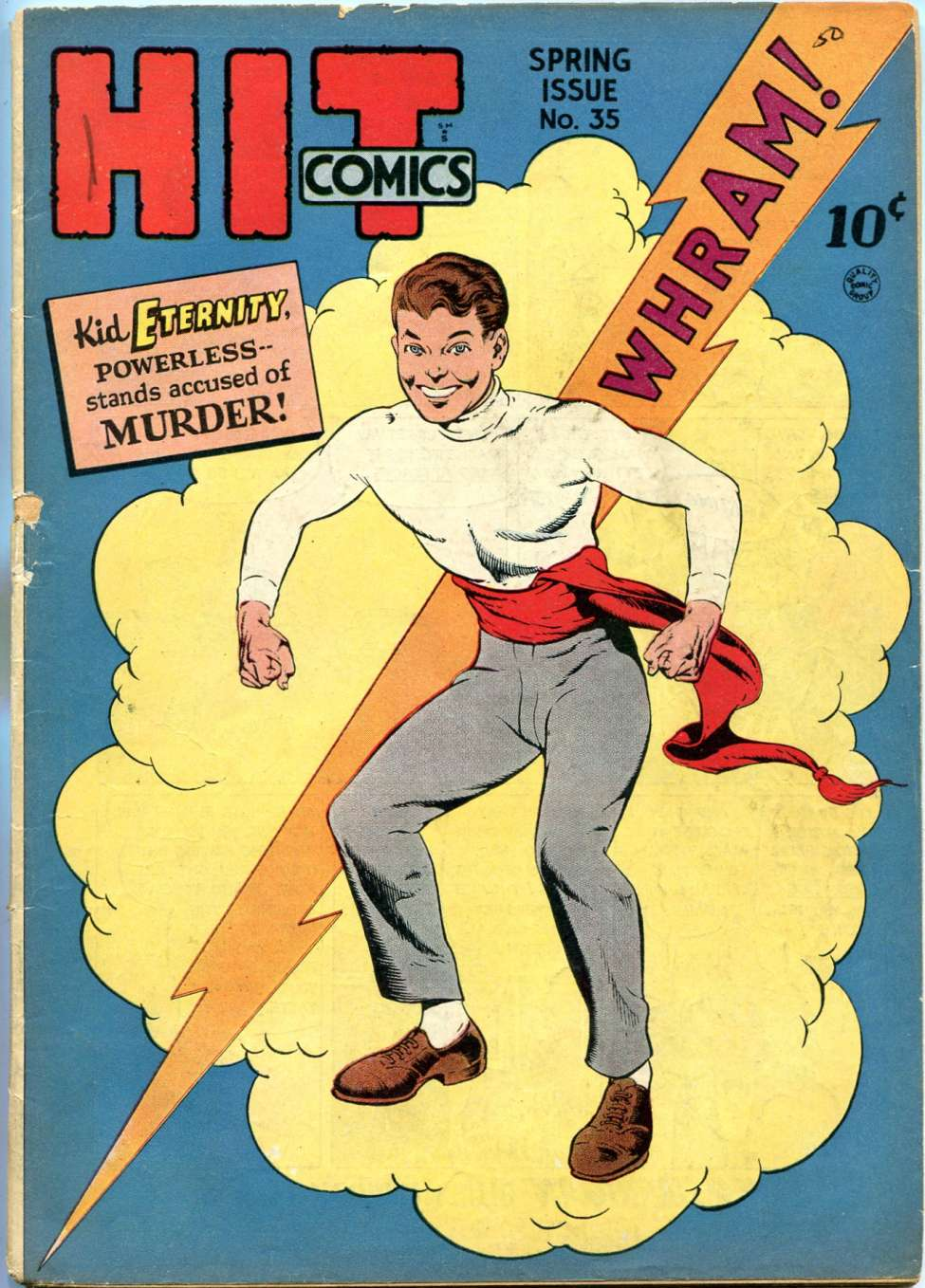 Comic Book Cover For Hit Comics #35