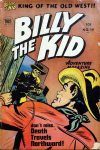 Cover For Billy the Kid Adventure Magazine 19