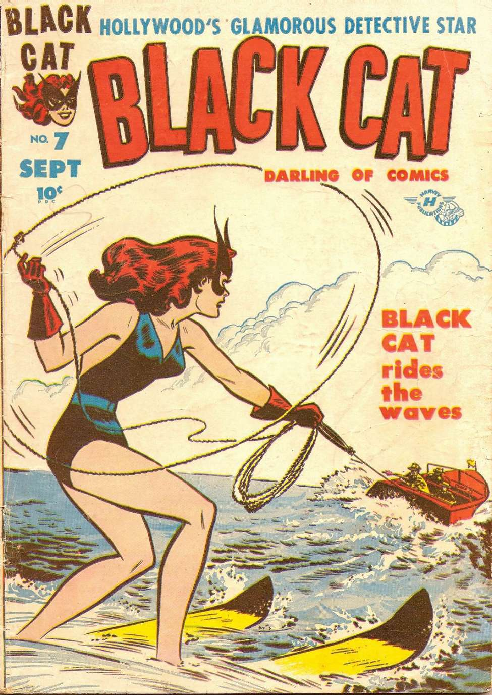 Comic Book Cover For Black Cat #7