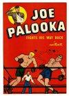 Cover For Joe Palooka Fight His Way Back