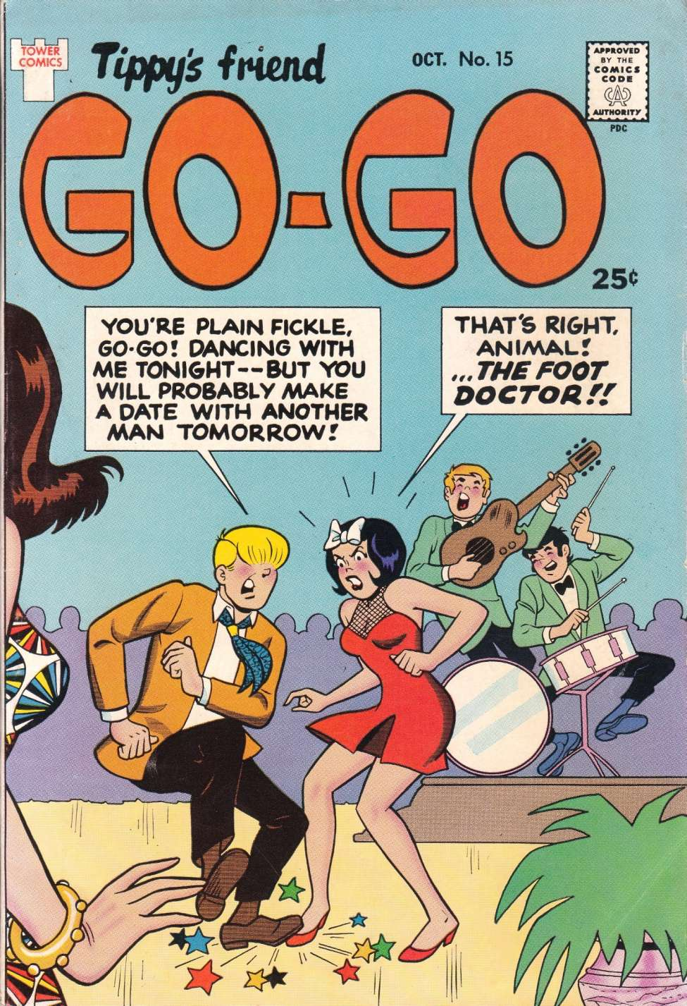 Comic Book Cover For Tippy's Friend Go-Go #15