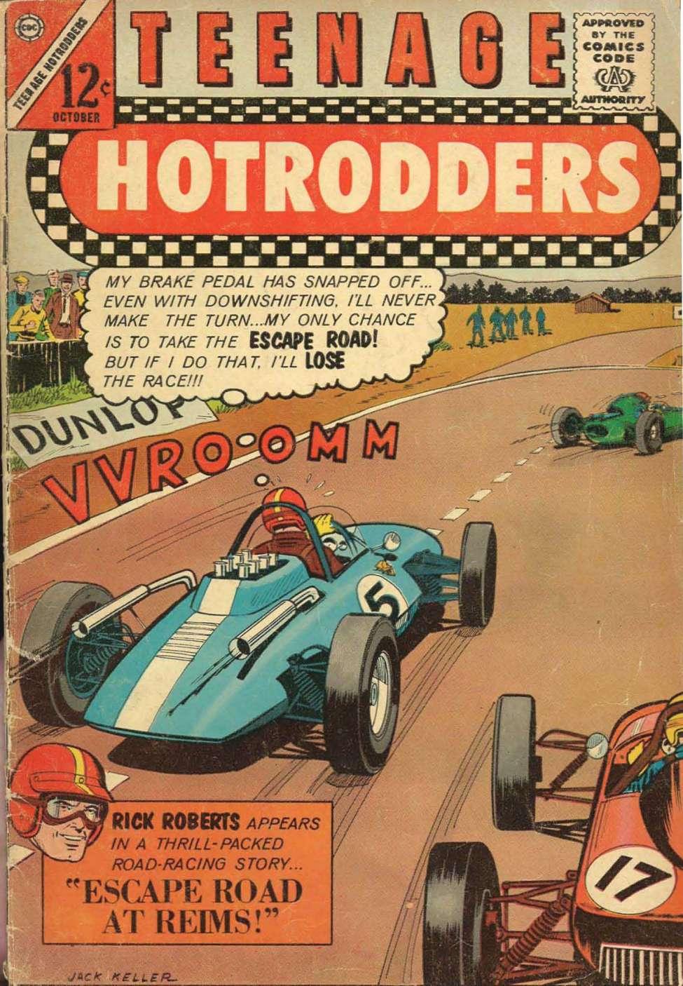 Teenage Hotrodders #4 (Charlton) - Comic Book Plus