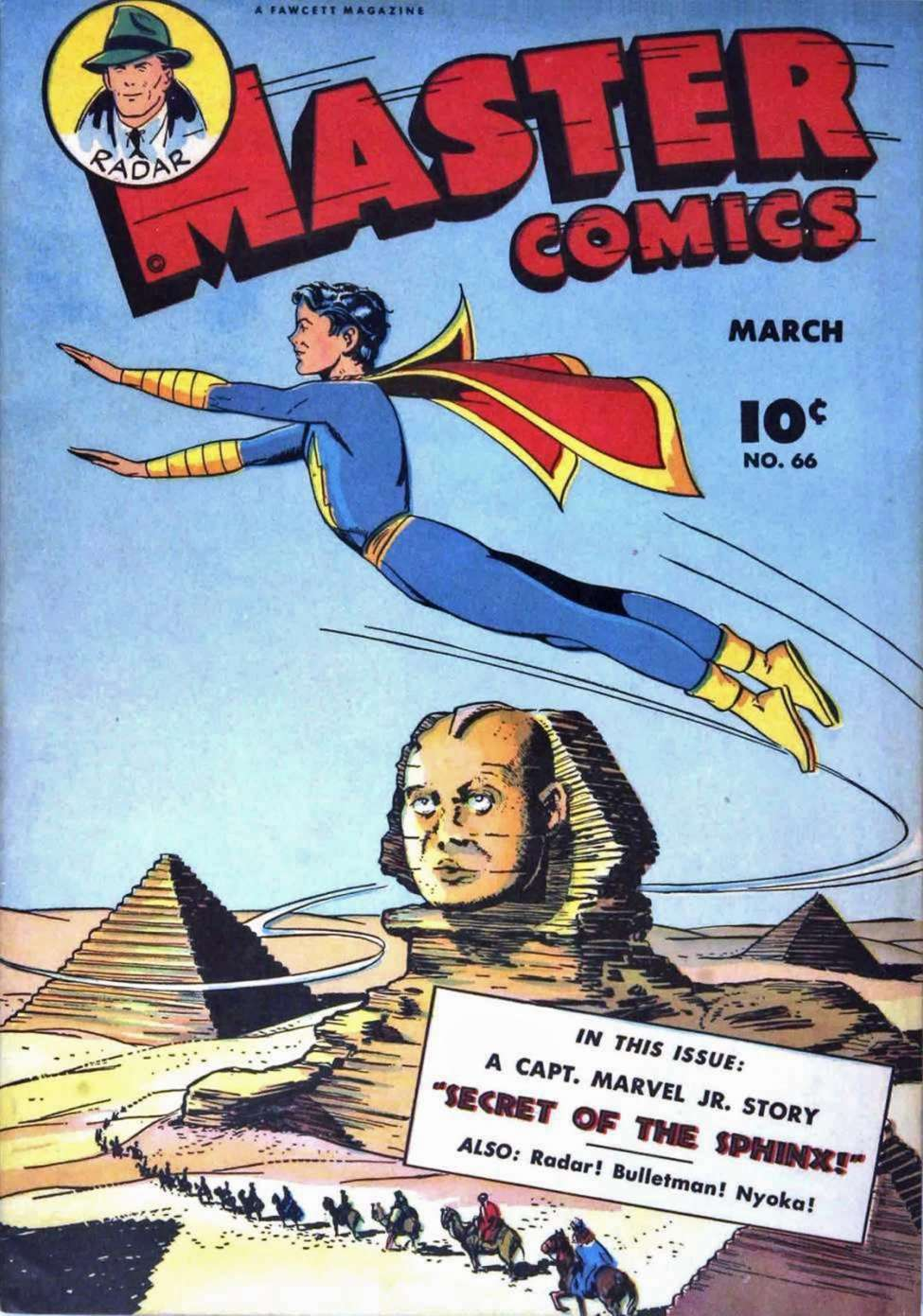 Comic Book Cover For Capt. Marvel Jnr Compilation Vol 09