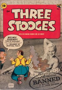 Large Thumbnail For Three Stooges #6