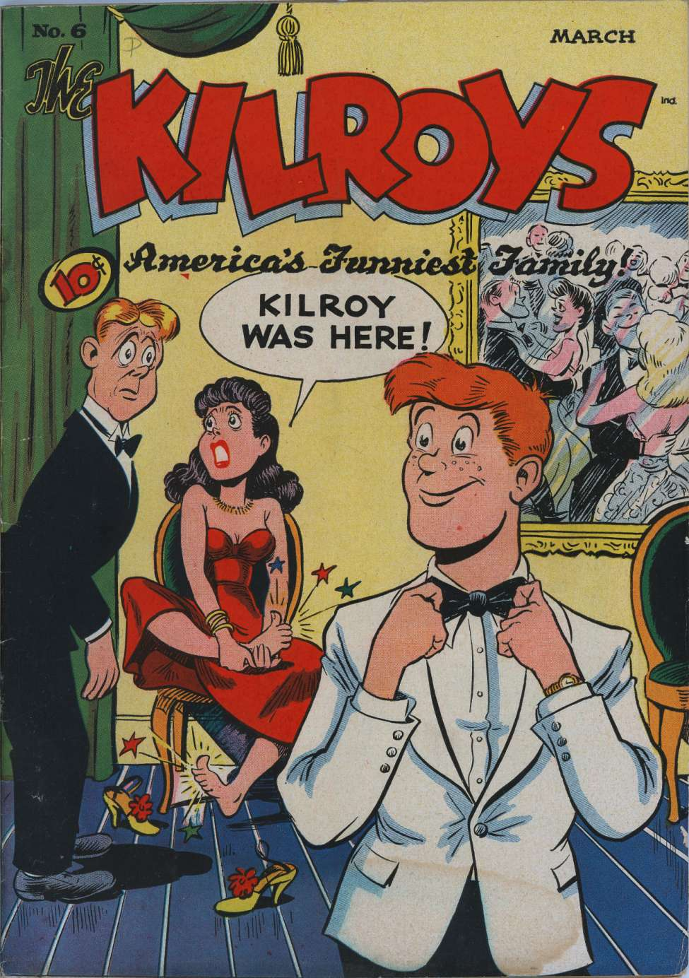 Comic Book Cover For The Kilroys #6
