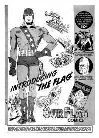 Large Thumbnail For Flag Archives Vol 1 (Ace Comics)