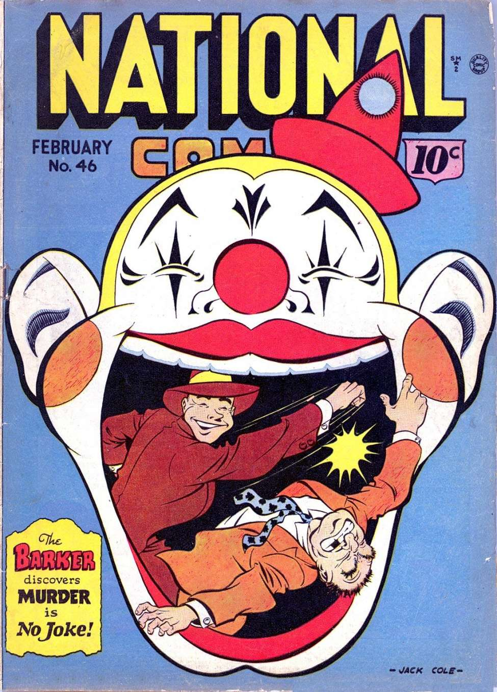 Comic Book Cover For National Comics #46