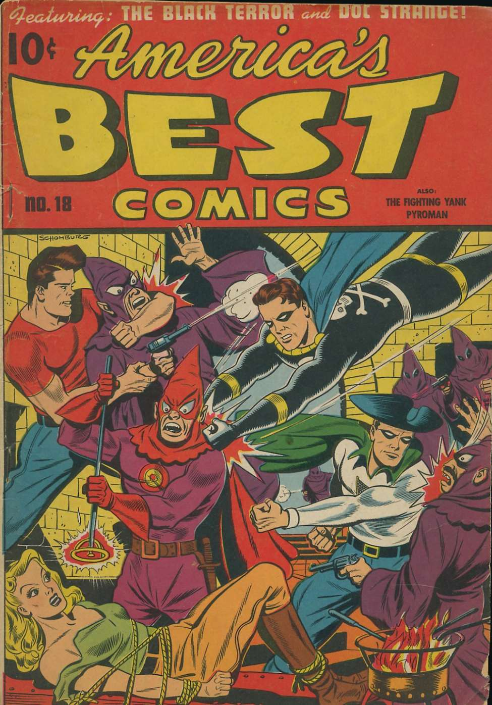 Comic Book Cover For America's Best Comics #18
