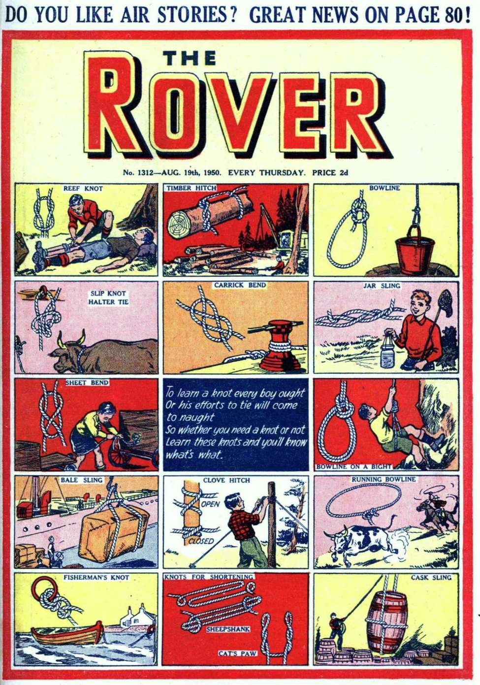 Comic Book Cover For The Rover 1312