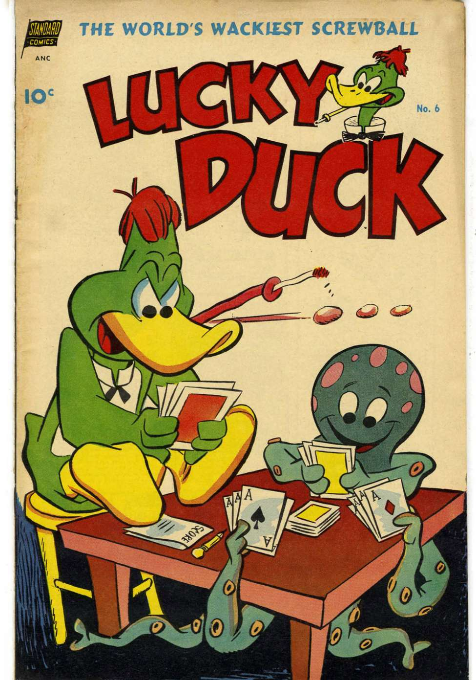 Comic Book Cover For Lucky Duck #6