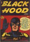 Cover For Black Hood Comics 9