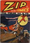 Cover For Zip Comics 23