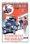 Cover For Nelson Lee Library s2 20 - Handforth's Bad Bargain