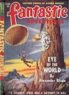 Cover For Fantastic Adventures v11 6 The Eye of the World Alexander Blade p1
