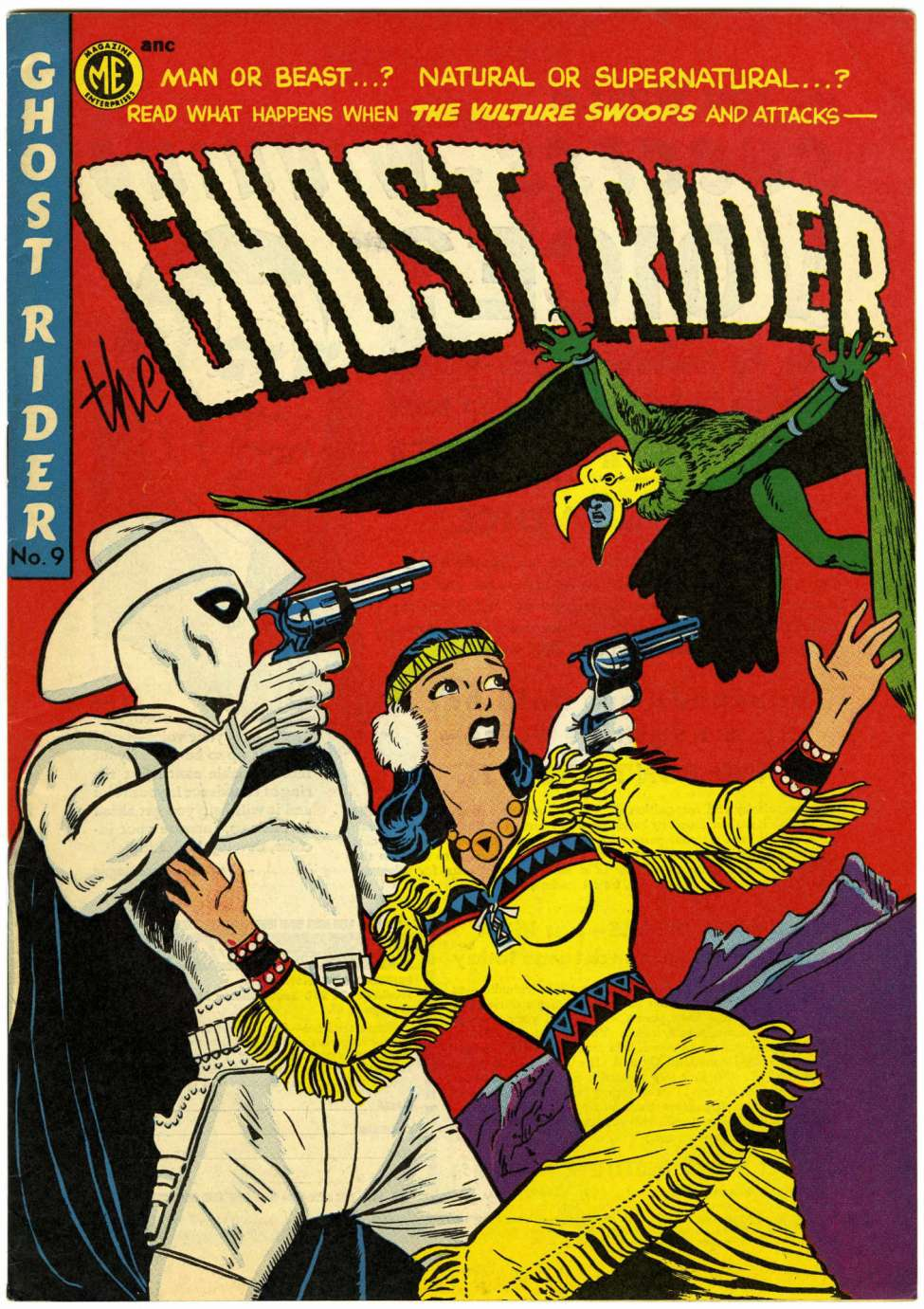 Comic Book Cover For The Ghost Rider 9 [A-1 #67]