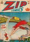 Cover For Zip Comics 42