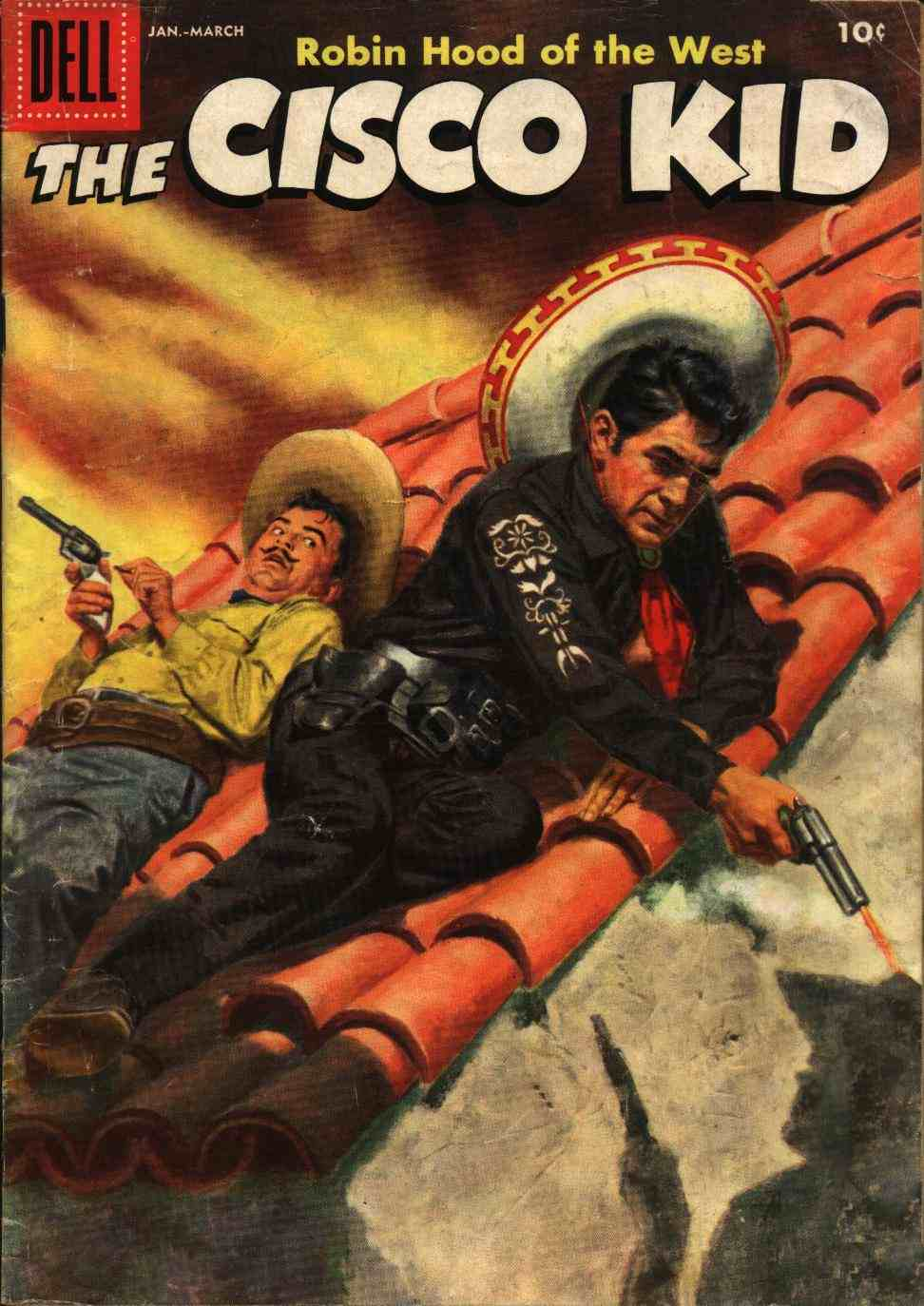 Comic Book Cover For The Cisco Kid 34