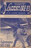 Cover For L'Agent IXE 13 v2 43 Prisonniers sous l'eau