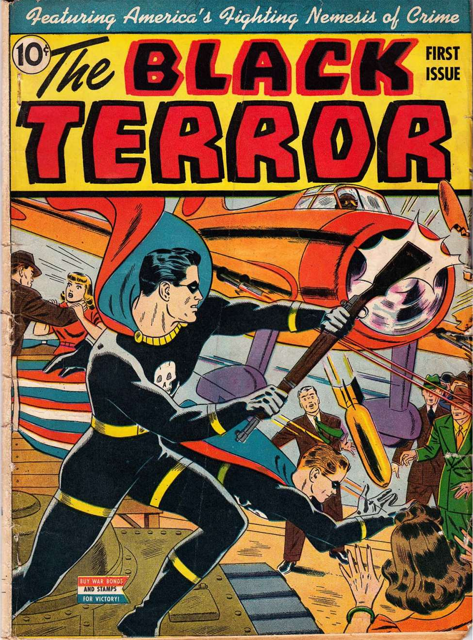 Comic Book Cover For The Black Terror v1 1 (1)