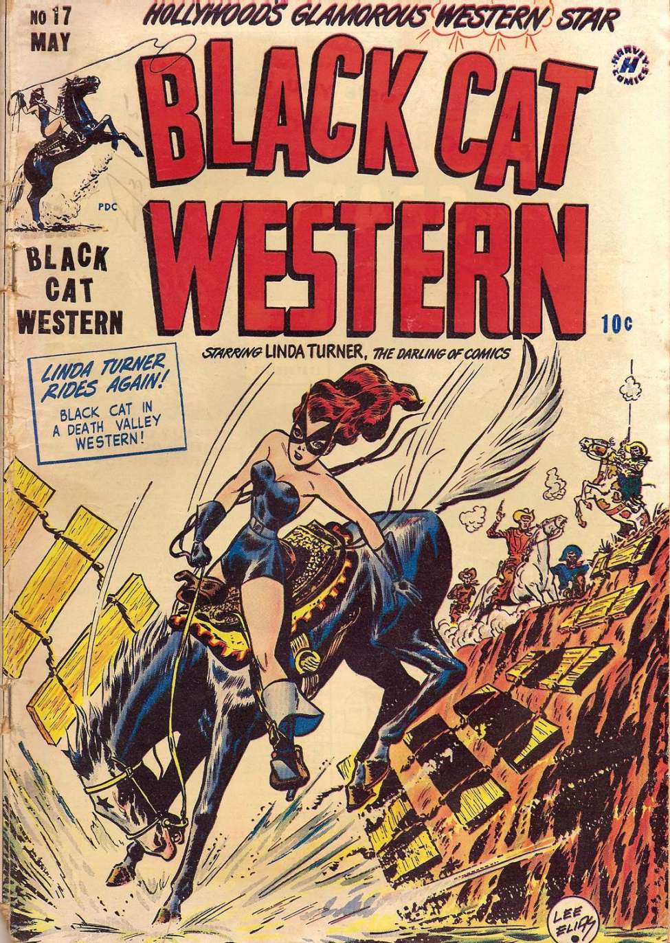 Comic Book Cover For Black Cat #17