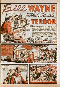 Large Thumbnail For Bill Wayne, The Texas Terror (Lev Gleason)