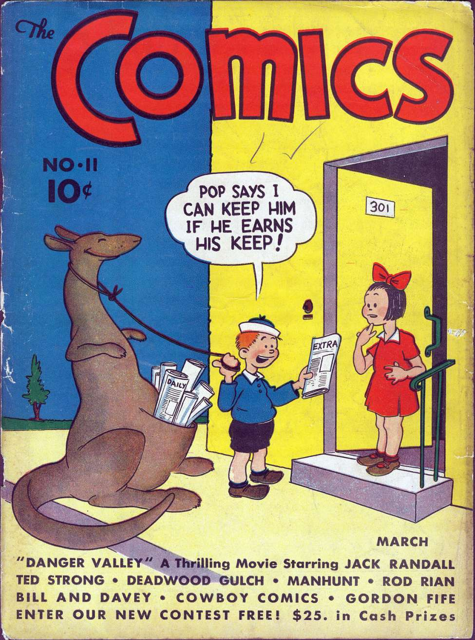 Comic Book Cover For The Comics #11