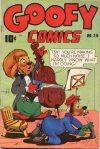 Cover For Goofy Comics 24