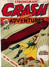 Cover For Crash Comics 3