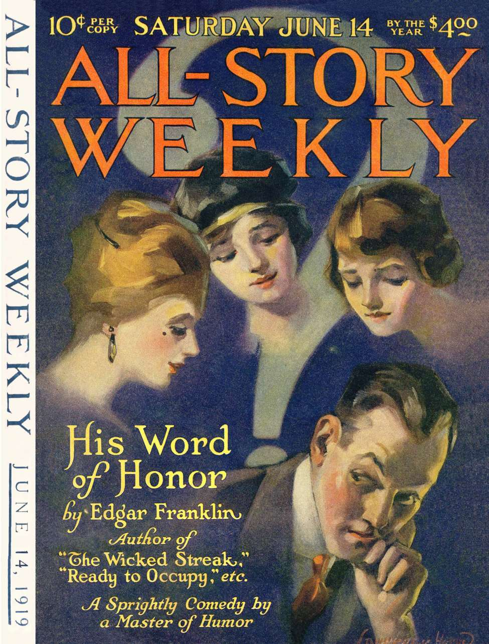 Comic Book Cover For All-Story Weekly v098 002