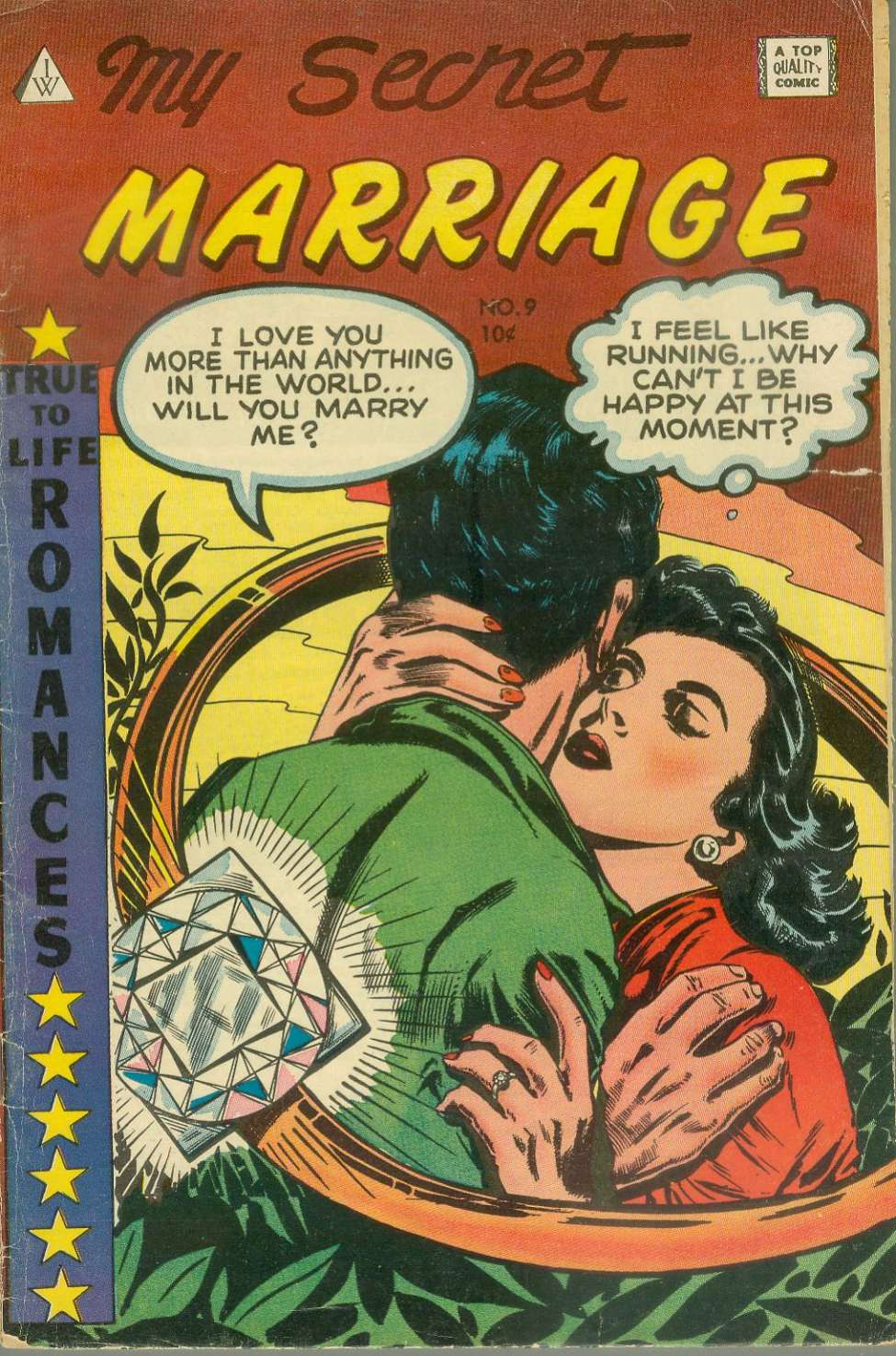 Comic Book Cover For My Secret Marriage #9