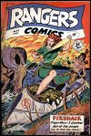 Cover For Rangers Comics 45