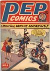 Cover For Pep Comics 55