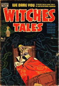 Large Thumbnail For Witches Tales #2