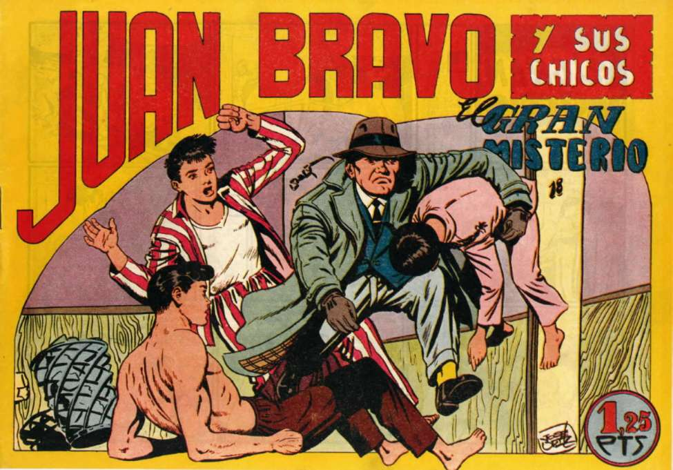 Comic Book Cover For Juan Bravo 10