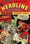Cover For Headline Comics 27