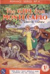 Cover For Romance Series 4 The Girl From Monte Carlo