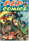 Cover For Pep Comics 34
